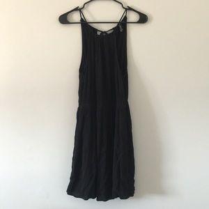 Forever 21 Black Strap Dress